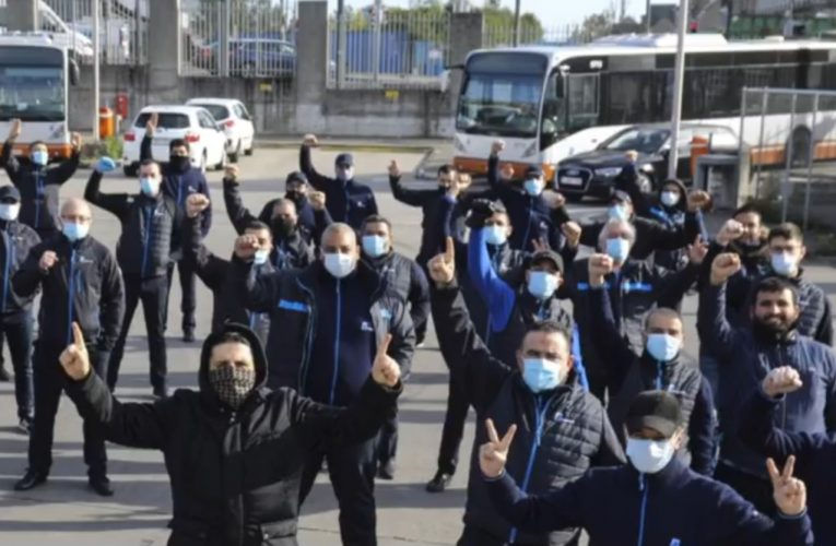 """""""We're All On Our Own"""" – Brussels Transport Workers Launch Wildcat Strike Against the Return to Normality"""